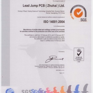 ISO14001:2004–Environment management