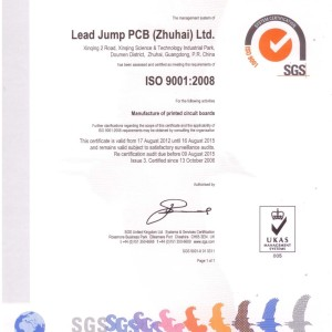 ISO9001:2008–Quality management