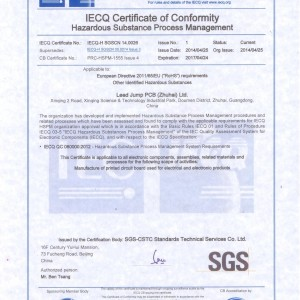 IECQ QC080000:2012–Hazardous substance
